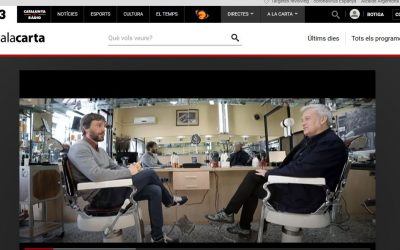 Salón Balmes reportaje TV3